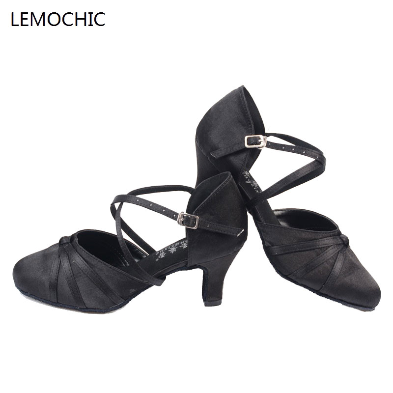 LEMOCHIC new lady and girls hot sale rumba samba latin tango cha cha pole salsa ballroom pointe professional dancing dance shoe lemochic hot sale women salsa cha cha double steps latin tango pole dancing performance arena classical professional dance shoes