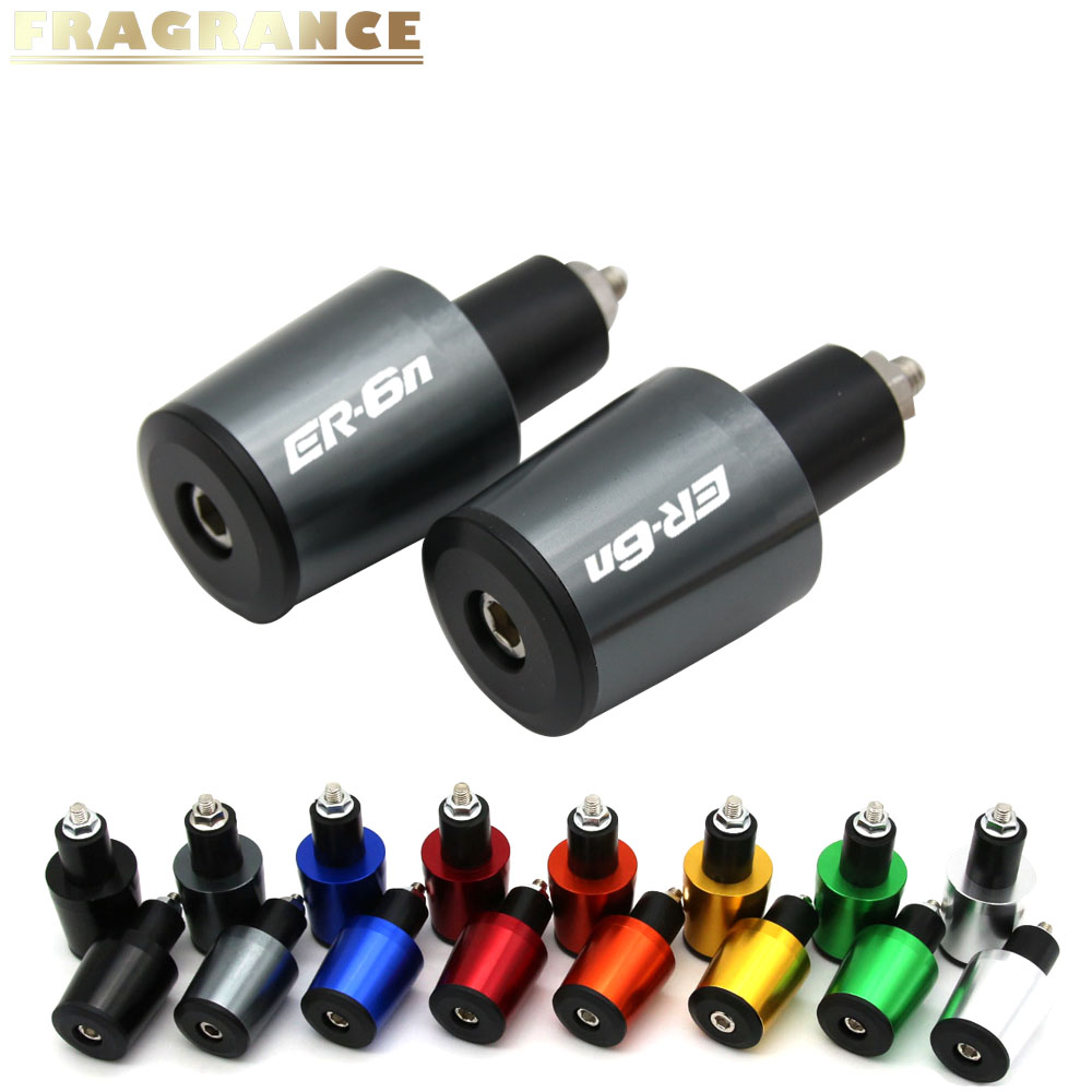 Anti Vibration Handle Bar End Black For Kawasaki Ninja Slug Weight Reducing