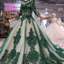 AIJINGYU Luxury Gowns Online Long White Gown For Wedding Real Sample Bridal Korea Lace 2021 2020 Dresses Gypsy Wedding Dress