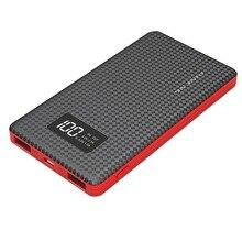 Внешний Запасные Аккумуляторы для телефонов Портативный резервного копирования Батарея Зарядное устройство оригинальный 6000 мАч USB Батарея мобильный Мощность со светодиодным индикатором для смартфонов