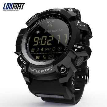 LOKMAT Smart Watch bluetooth digital men clock Pedometer smartwatch Waterproof IP67 Sport For ios Android Phone Smart Watches