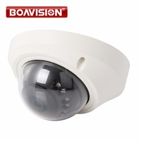IP Camera 2MP High Resolution 1080p Real Time Video Mini Dome Network Camera IR POE Camera