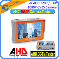 New Portable 4.3 LTPS LCD 1080P CCTV Camera Display AHD Monitor Tester RS 485 12V Output For 720P / 2.0MP 1080P CVBS Camera