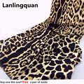 Desigual leopard scarves luxury brand New Fashion Winter Women cashmere foulard hijab scarves 2015 pashminas bufanda echarpe