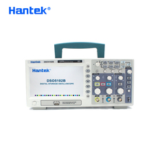Hantek DSO5102B הדיגיטלי Mso7102 2 ערוצים 100 Mhz רוחב פס Osciloscopio Portatil LCD כף יד USB אוסצילוסקופ 1GSa/s