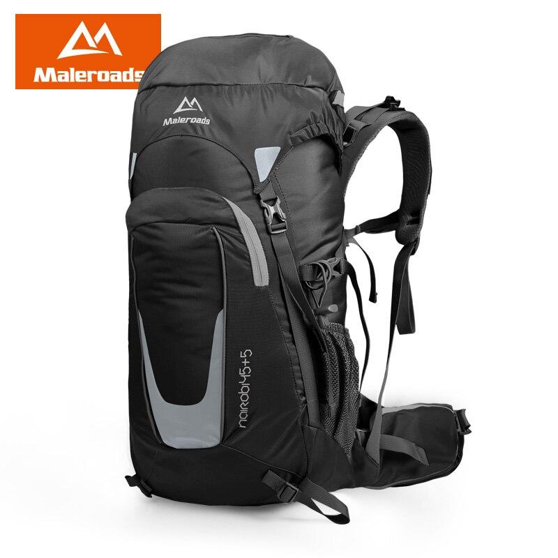 Cool! Sport Sac À Dos d'alpinisme Professionnel sac pour hommes femmes randonnée camping sac à dos voyage escalade sac Marque Qualité 45L