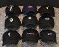 Os recém-chegados kpop snapback cap homens algodão polos hombre capsgorra de beisebol casquette cappello sólida hip hop do boné de beisebol 6 painel