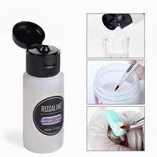 Pintura 3d prego acrílico em pó poli para unha polonês dicas da arte do prego construtor cristal manicure conjunto kit profissional prego accesorioe