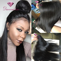 Cheap Indian 13x4 Lace Frontal Closure Virgin Human Hair Straight Lace Frontals With Baby Hair Ear To Ear Lace Frontal Closure