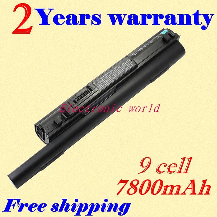 JIGU New 6600mAh Laptop Battery 312-0773 P891C For DELL Studio XPS13 Studio XPS 1340 free shipping