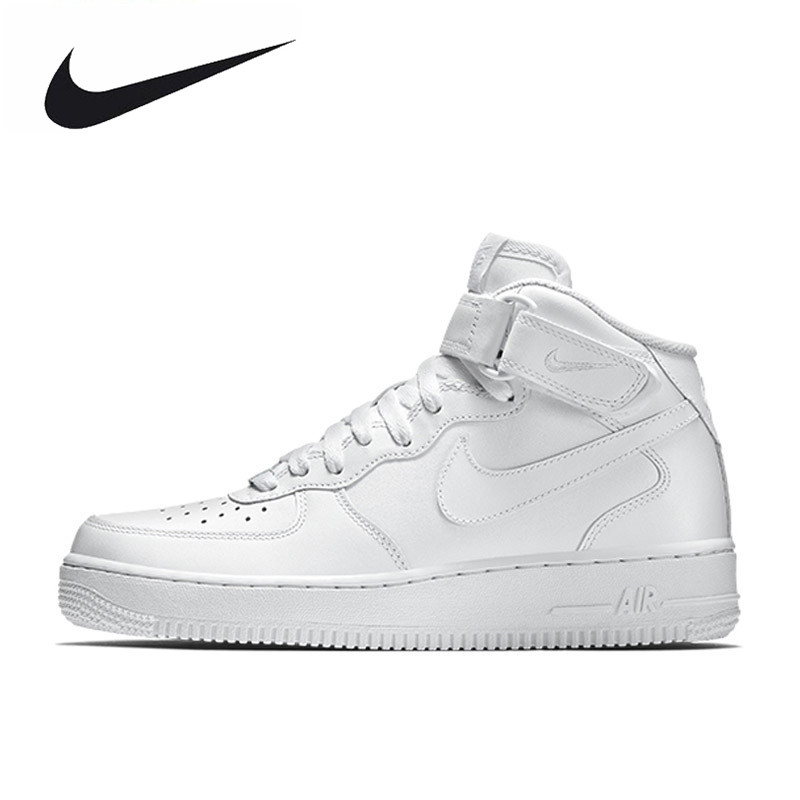 Nike Air Force 1 AF1 Breathable Men's Original New Arrival Official Skateboarding Shoes Sports Sneakers 315123-001 nike original new arrival mens skateboarding shoes breathable comfortable for men 902807 001