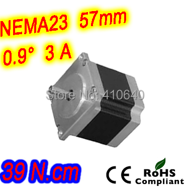ФОТО 12 pieces per lot  high resolution step motor 23HM16-3006S L 41 mm Nema 23 with 0.9 deg  3 A  39 N.cm and  unipolar 6 lead wires