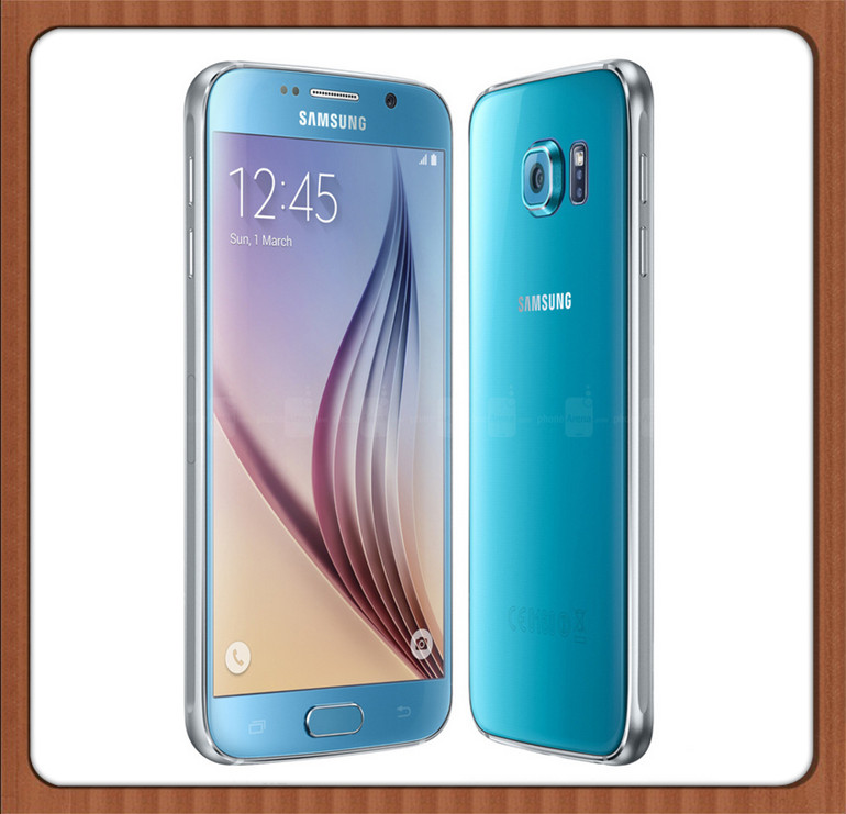 Samsung Galaxy S6 Original Unlocked 4G GSM Android Mobile Phone G920F Octa  Core 5 1