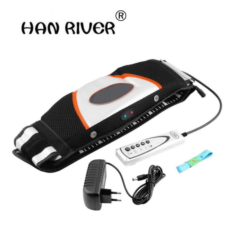 HANRIVER high quality Fat burning oscillation massage slimming belt electric massager vibrating modelling take care body heat body slimming massager waist leg beauty care massage device electric vibrating massage slimming belt fat burning machine