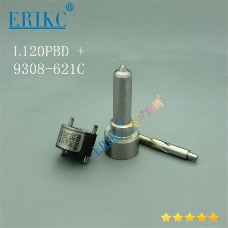 ERIKC Fuel Injection Repair Kit 7135-647 Nozzle L120PBD And Valve 9308-621C For Delphi Injector EJBR04001D EJBR01801A EJBR01801Z