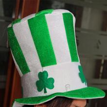 Unisex Masquerade Irish Hat St. Patrick's Day Costume Stovepipe Hat