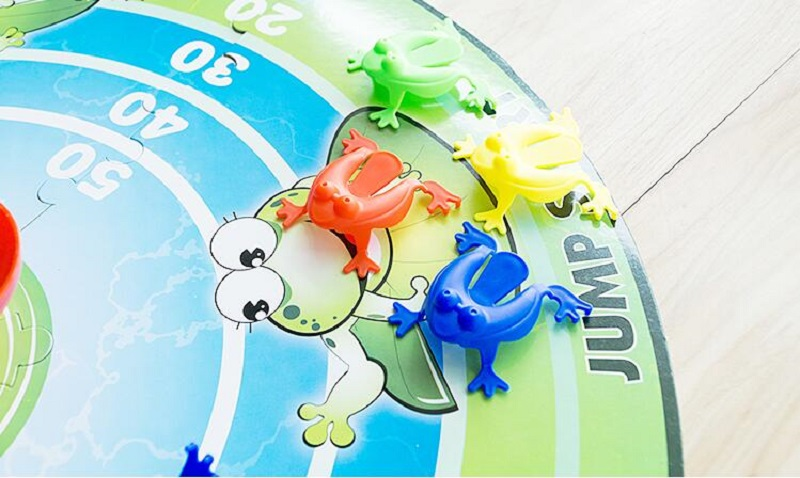 Bouncing Jumping Frog Game 5