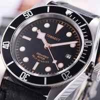 Wasserdicht Herren corgeut Uhren Top Marke Luxus wasserdicht schwimmen Taucher sport automatische Japan Miyota Mechanische Männliche Armbanduhr