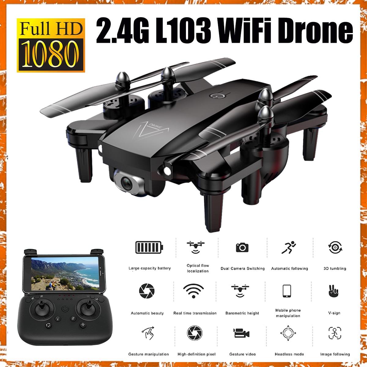 1080 P RC hélicoptères caméra Drone GPS Drone avec caméra hélicoptère Rc avec caméra 2.4G caméra de Drone de Position de flux optique