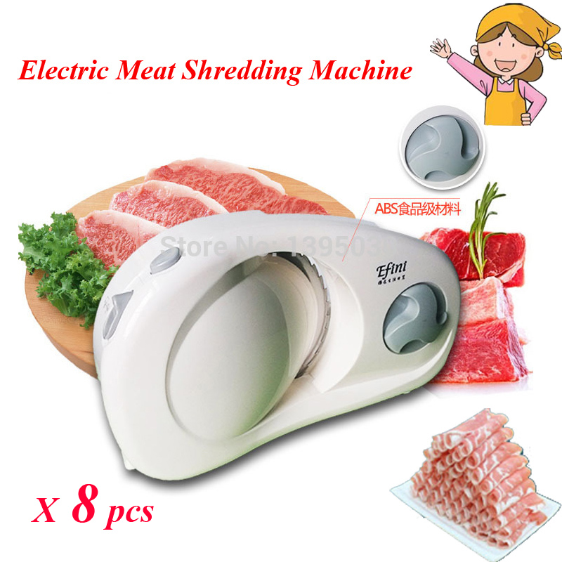 ФОТО 8pcs/lot 100W 220V Household Electric Meat Cutting Machine Meat Grinder 0-15mm Meat Slicer