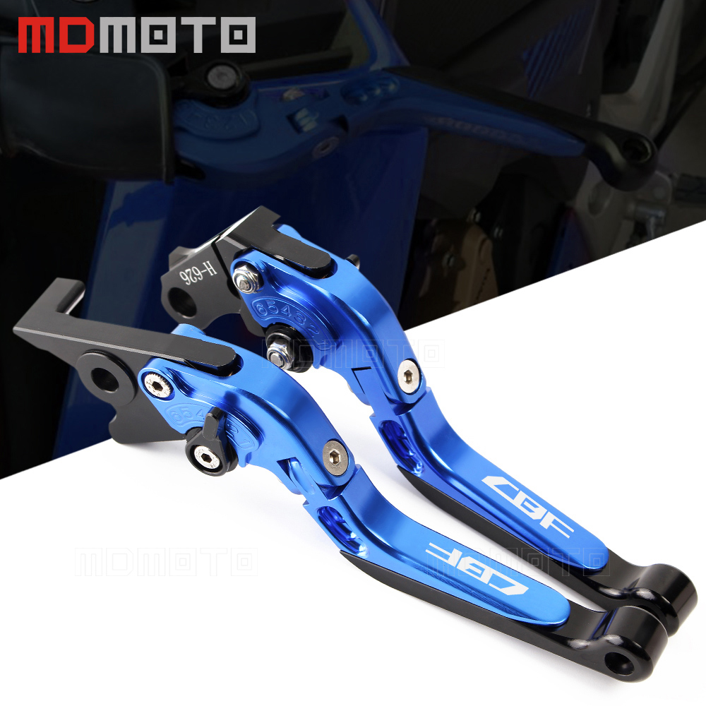 Motorcycle CNC Aluminum lever Adjustable Foldable brake clutch levers For Honda CBF 1000 A CBF1000 CBF1000A 2010 2011 2012 2013