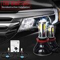 LED COB Coche Kit de Conversión de Faros Cree 40W8000LM Bombilla Luz Antiniebla H1 HB3HB4 H3 H4 H7 H8 H9 H11 9005 9006 9012 Play & enchufe