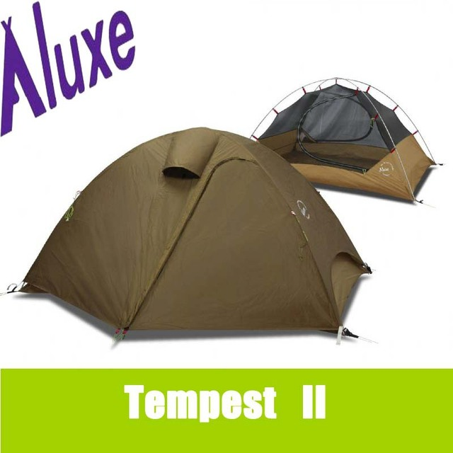 Luxe tempest II outdoor c&ing tent ultra-light double layer aluminum alloy rod hiking beach  sc 1 st  AliExpress.com & Luxe tempest II outdoor camping tent ultra light double layer ...