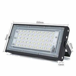 Image 3 - Projecteur dextérieur à large faisceau, conforme à la norme IP65 Led, lampe de paysage, 50W, 220/230/240V, AC LED étanche/LED V