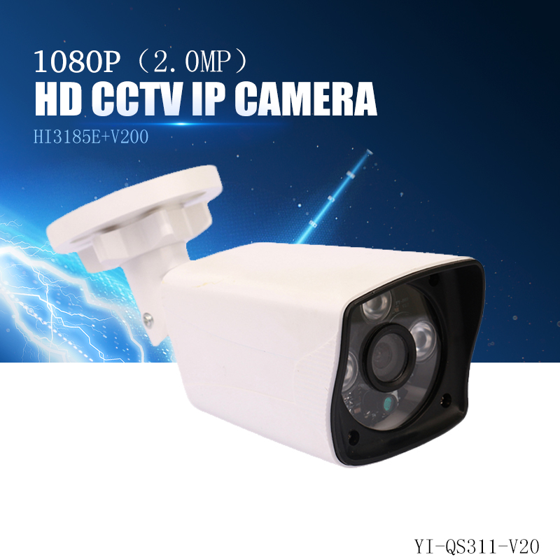 YiiSPO 2.0MP 1080P HD POE IP Camera infrared security camera IR-CUT good Night Vision P2P onvif waterproof Xmeye iphone view