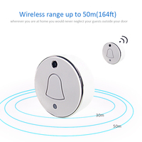 Wireless Doorbell Camera Outdoor Home Security WIFI Door Bell P2P Snapshot For IOS Android