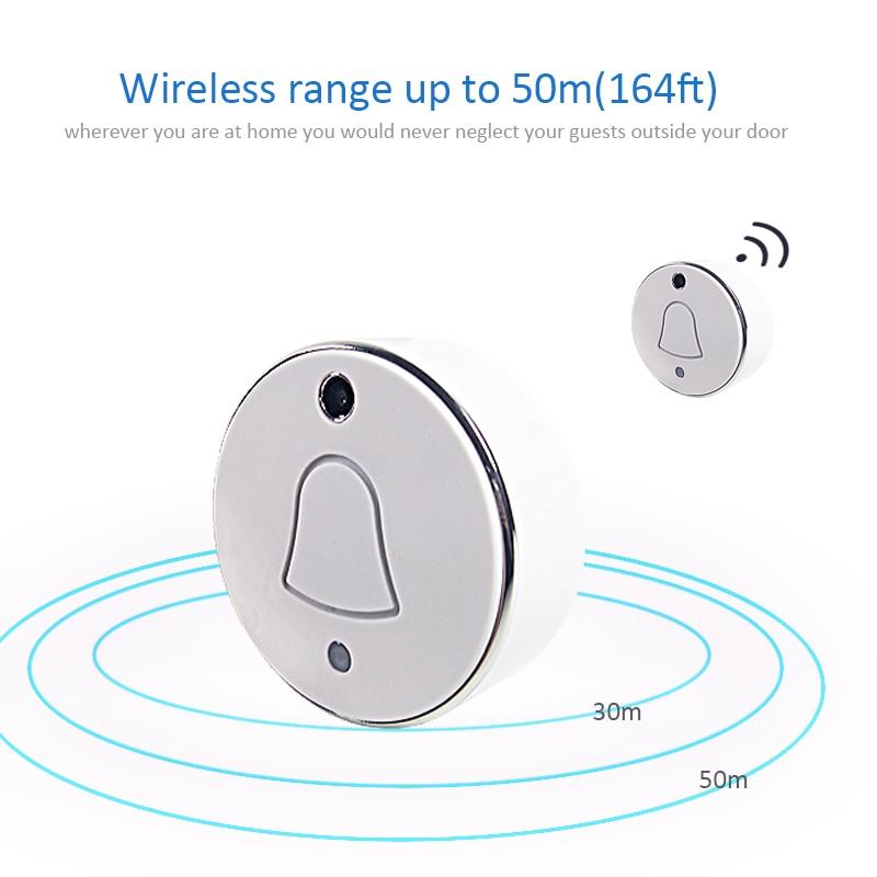 Wireless Doorbell Camera Outdoor Home Security WIFI Door Bell P2P Snapshot for IOS Android loosafe wireless home door bell