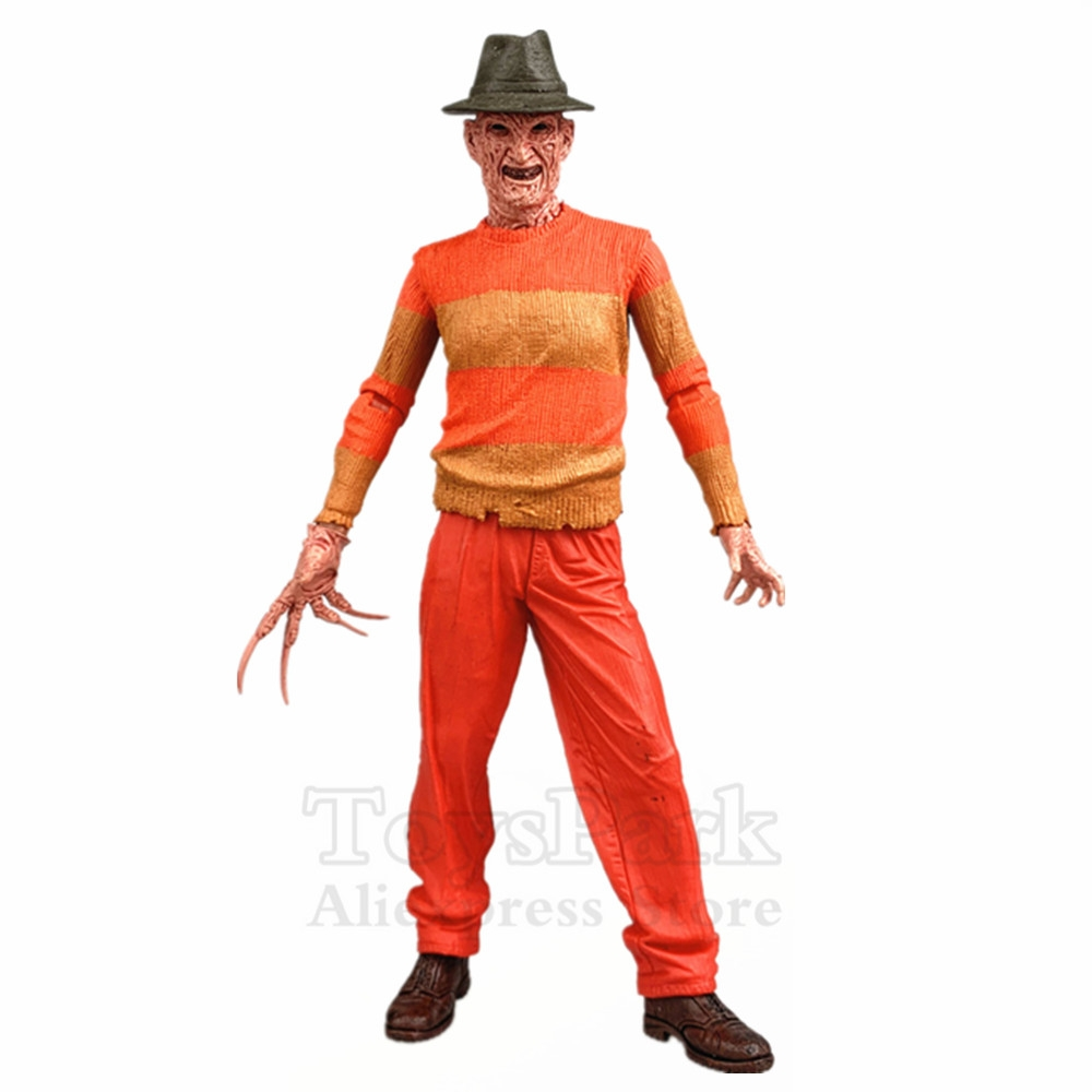 Esclusivo NES Freddy Krueger 7 Action Figure Film Originale NECA Reale Giocattoli A Nightmare On Elm Street Gamestop Da Collezione bambolaEsclusivo NES Freddy Krueger 7 Action Figure Film Originale NECA Reale Giocattoli A Nightmare On Elm Street Gamestop Da Collezione bambola