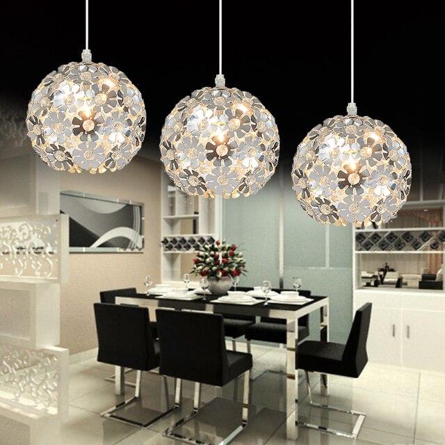 crystal pendant lighting. Beautiful Silver Flower Crystal Pendant Lights Fixtures Aluminum Hanging Lamp Light For Dining Bedroom Lighting