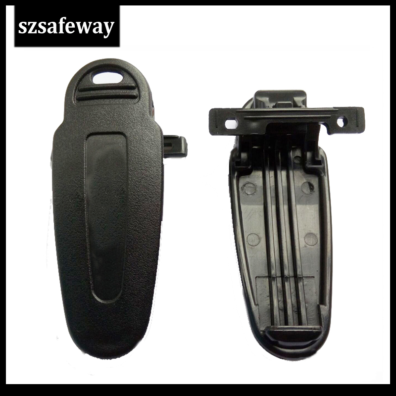 10 X  Two Way Radio Belt Clip For Kenwood TK2160 TK2170 TK2360 TK3140 TK3140 TK3160 TK3170 TK3173 NX200 KBH-12