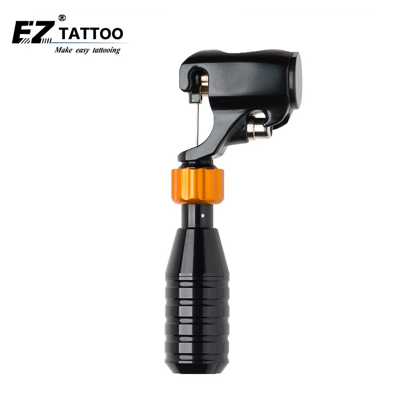 EZ Tattoo BAT Cartridge Rotary Tattoo Machine With Japan DC Coreless Motor with Grip Complete Set DHL free shipping 1 set/lot