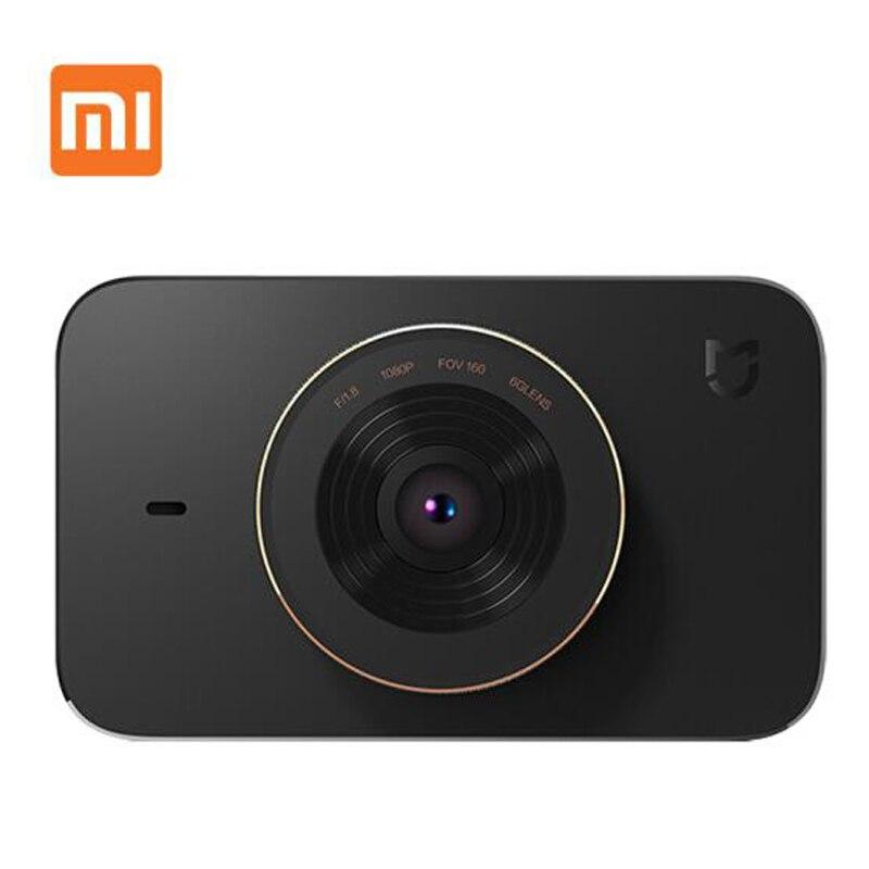imágenes para Nuevo 2017 Xiaomi Mijia F1.8 Videocámara Del Registrador Del Coche 1080 P 160 Grados amplio Ángulo de Cámara Del Coche DVR de 3 Pulgadas HD de Pantalla Xiaomi Mijia