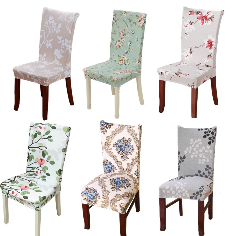 1pcs Leaf Flower Heart Stretch Home Decor Dining Chair
