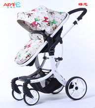 Multiple Baby Stroller 2-in-1  Light Folding Umbrella Car Can Cit Can Lie Ultra-light Portable Stroller For baby
