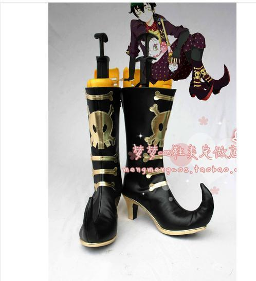Nuevos Zapatos Anime Ao no Exorcist Blue Exorcist Amaimon Cosplay Botas
