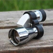 Mini 8x20 Ajuste Low Light Night Vision Binocular Telescópio Monocular Spotting Scope Hunting Bird Watching