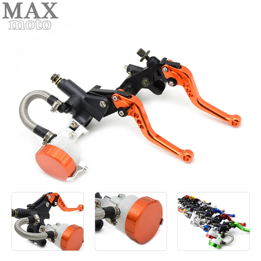 free shipping motorcycle CNC Aluminum Adjustable brake clutch lever& brake pump For Aprilia RST1000 FUTURA 2001 02 03 04 05