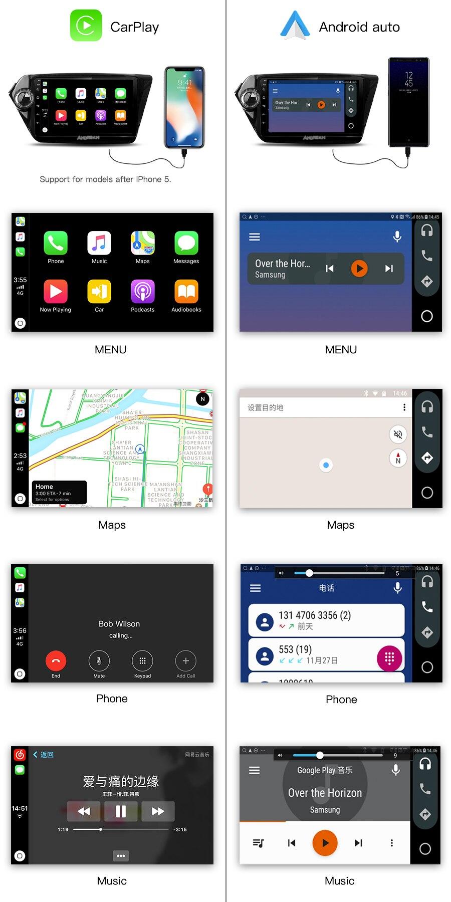 carplay&android-auto