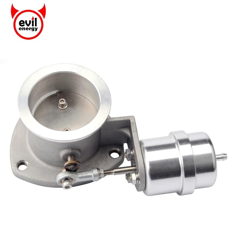 Злые энергии-2.5 ''63 мм выхлопных газов Управление вырез клапан с вакуумным приводом открыть закрыть