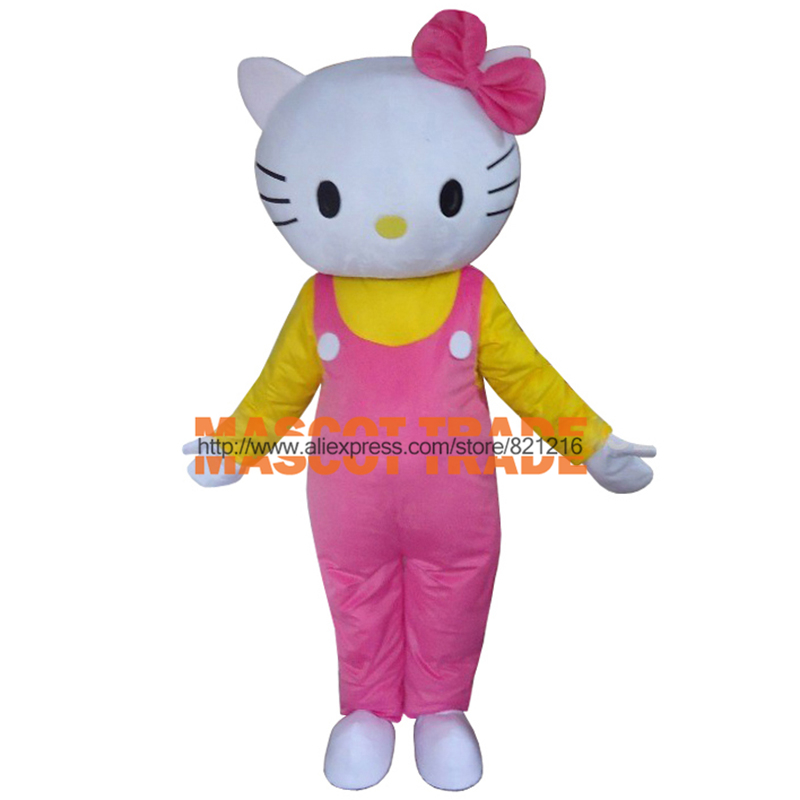 high quality hello kitty mascot costume cartoon mascot costume character costume halloween costume free shipping - Halloween Hello Kitty Costume