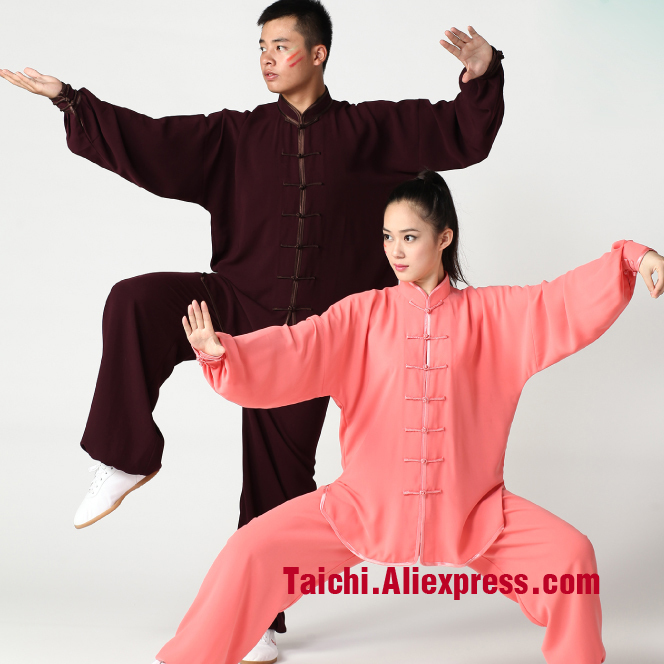 Male & Female Handmade Tai Chi Uniform Wushu, Kung Fu,martial Art Suit  Chinese Stly,17 Color