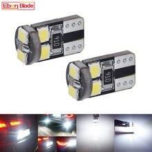 6 x led carro canbus dc 12 v lampada luz t8 t10 2835 super branco 6000 k 194 168 w5w t10 led estacionamento lâmpada auto cunha lâmpada de afastamento