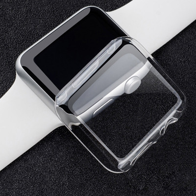 Cover for Apple Watch case 42mm 38mm iWatch band Colorful Plating Screen Protective Case for Apple watch 3 2 1 Watch Accessories | Watchbands