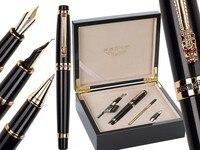 4box/lot Fountain pen Calligraphy Nib + Broad Nib + Rollerball Tib 3/set in Original box HERO 1111 standard pen Free Shipping