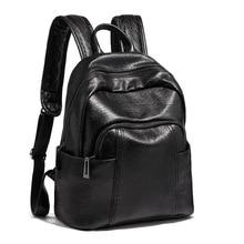 Moxi женский рюкзак из искусственной кожи, женская сумка на плечо, школьный ранец, тоут, черный коричневый ранец, сумки для книг, женские универсальные