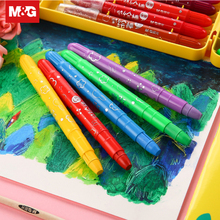 Cute Kawaii Cartoon Crayons Oil Pastel 12/24/36 Colors Child Safety Non-toxic Oil Pastel Graffiti Student Art Supplies FGMW7904